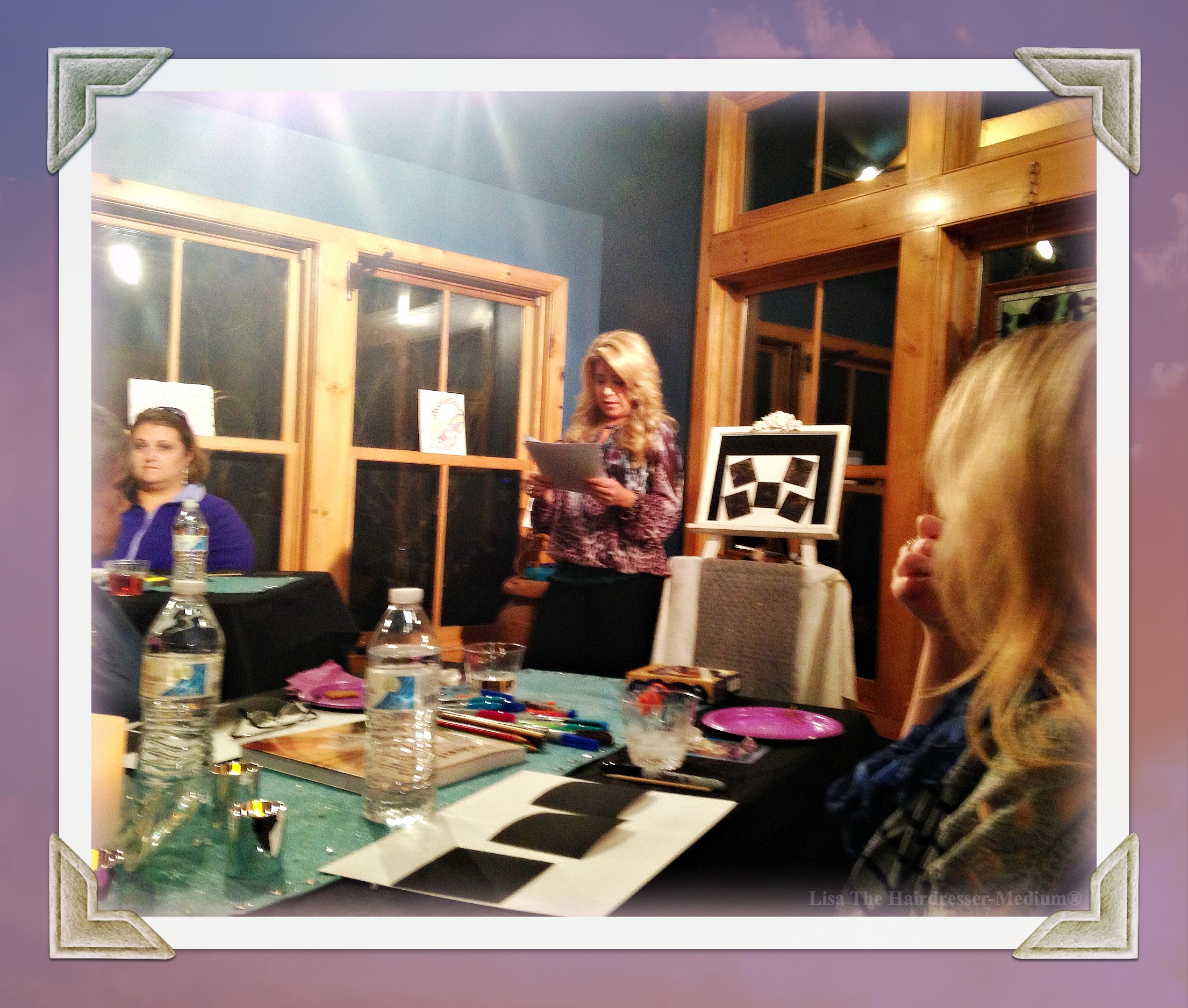 Lisa The Hairdresser-Medium® Transformational Teacher